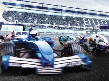 ออกแบบ KeyVisual ในงานแข่งรถ | MeDee - บริษัทรับทำเว็บไซต์ กราฟฟิกดีไซน์