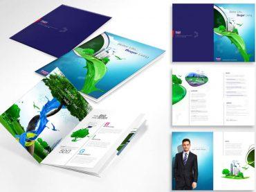 ออกแบบ Company Profile รูปแบบ Retouching laout graphic desing ด้วยทีมมืออาชีพ