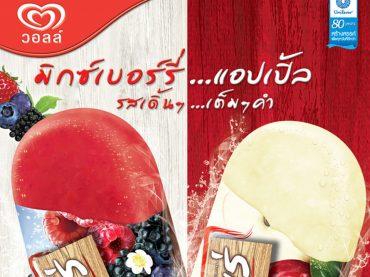 ออกแบบ ไอศกรีม วอลล์ | MeDee - บริษัทรับทำเว็บไซต์ กราฟฟิกดีไซน์