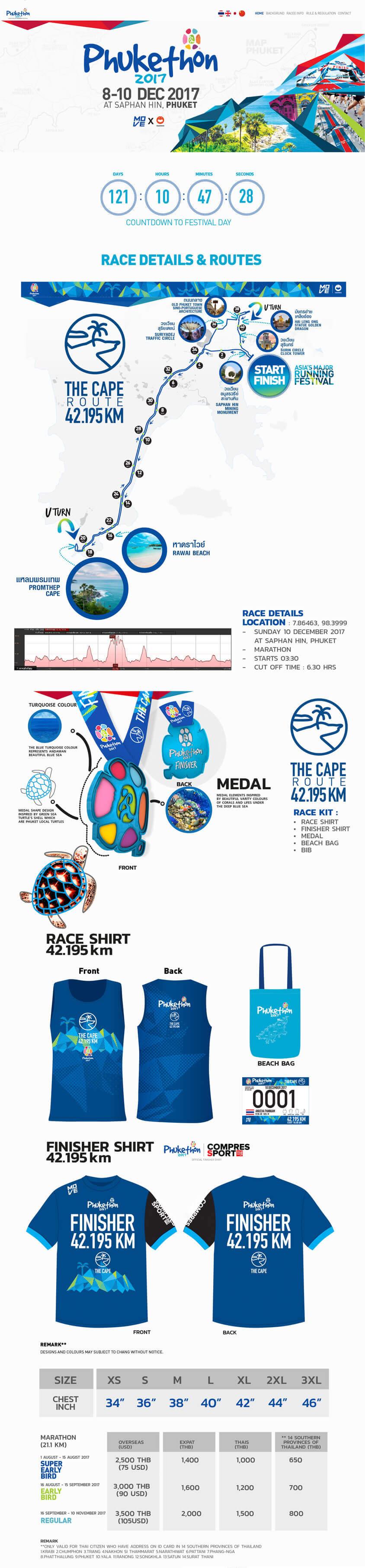ดีไซน์การวิ่งมาราธอนให้จังหวัดภูเก็ต | MeDee - บริษัทรับทำเว็บไซต์ กราฟฟิกดีไซน์