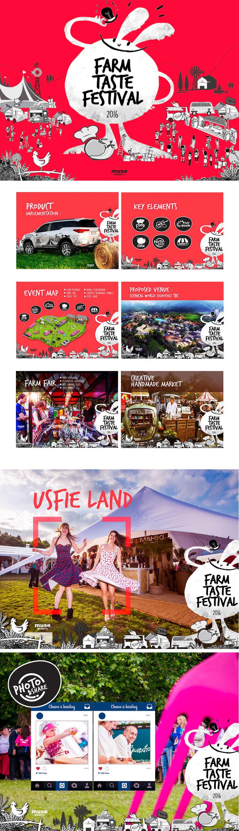 ออกแบบ Farm-Taste-festival | MeDee - บริษัทรับทำเว็บไซต์ กราฟฟิกดีไซน์